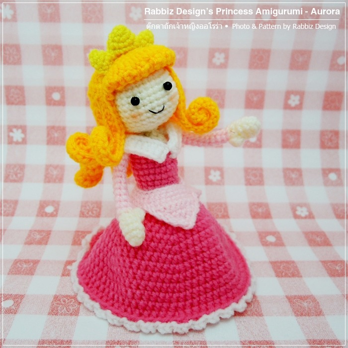 Ravelry: Cinder princess Amigurumi pattern by Thuy Anh | 700x700
