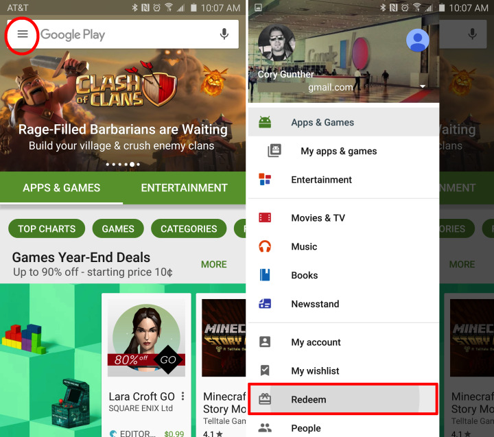 All Devices* free google play gift card redeem code 2017