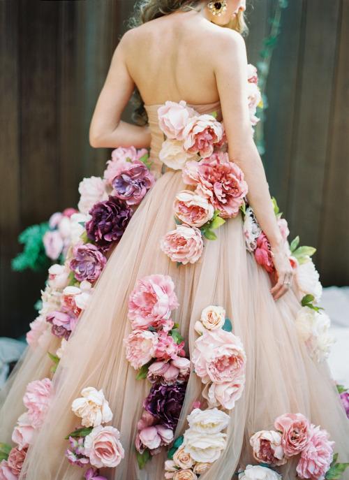 платье цветок своими руками