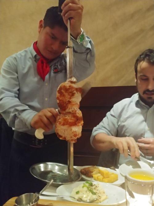 Gaucho slicing Pork Picanha
