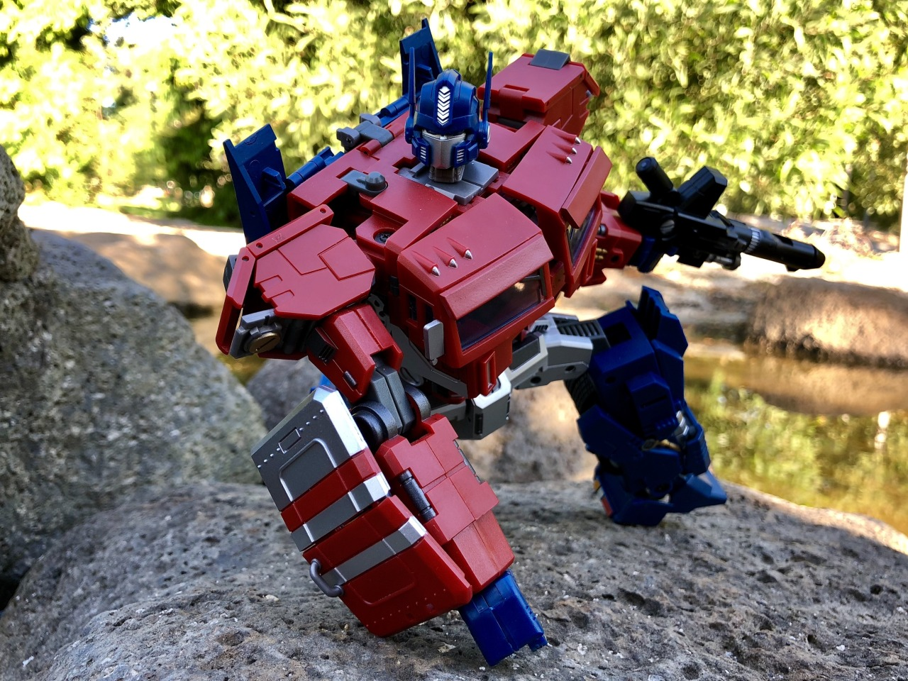 Audacious Hasbro Transformers Optimus Prime Idw Action Figure Flame Other Action Figures Action Figures