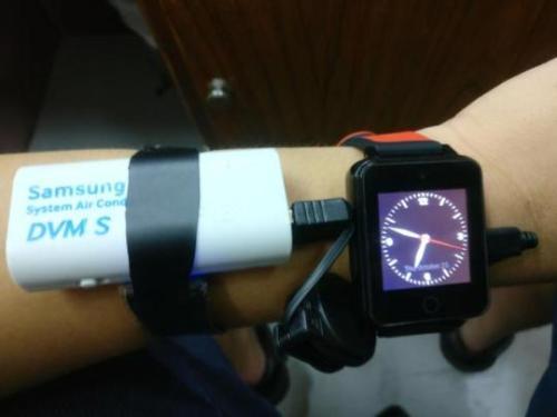 powerbank smartwatch verdad verdadera batería