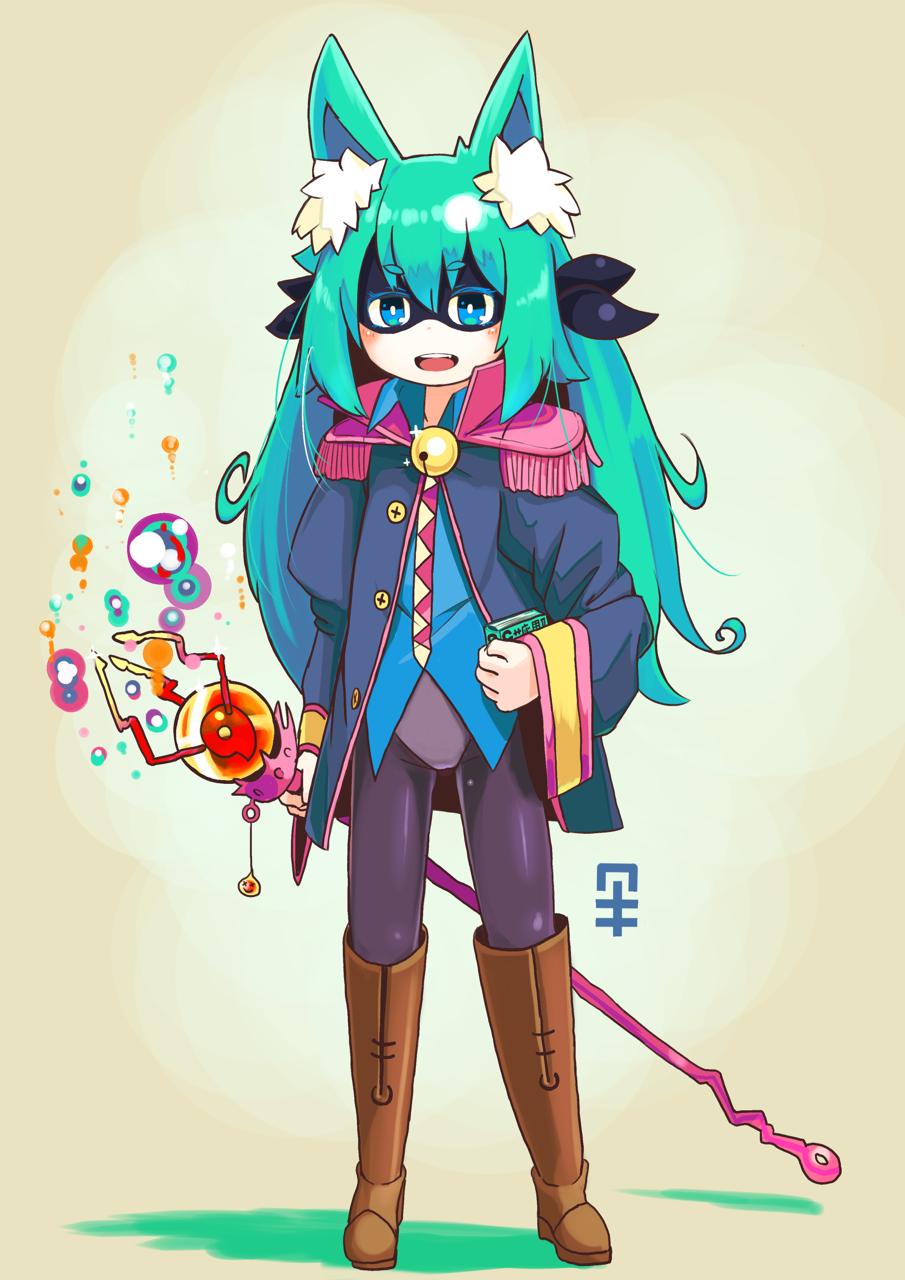 #まかフロ より新キャラ、謎の魔法使い。New character in my developing game.