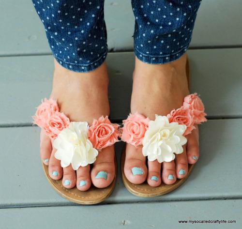 Summer Sandals 2 Ways