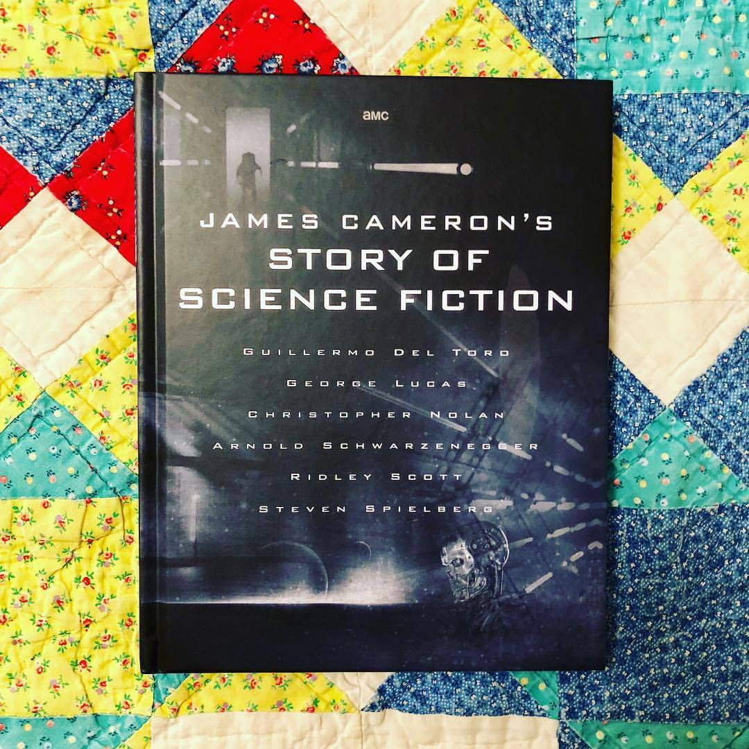 "I'm currently watching ""James Cameron's Story of Science Fiction""—a documentary series that explores the history and evolution of the genre—on @amc_tv. It's fantastic! Picked up the companion book at @mopopseattle over the weekend. (at Seattle, Washington)"