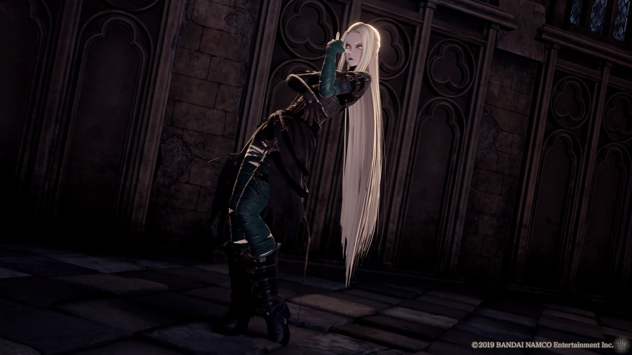 Sephiroth, off screen: ''Mother… what… are you doing…? #i love how serious jenova is striking that pose XD #jenova#code vein#Final Fantasy #final fantasy vii  #final fantasy 7 #cv#ff#ffvii#ff7#character creation#queue