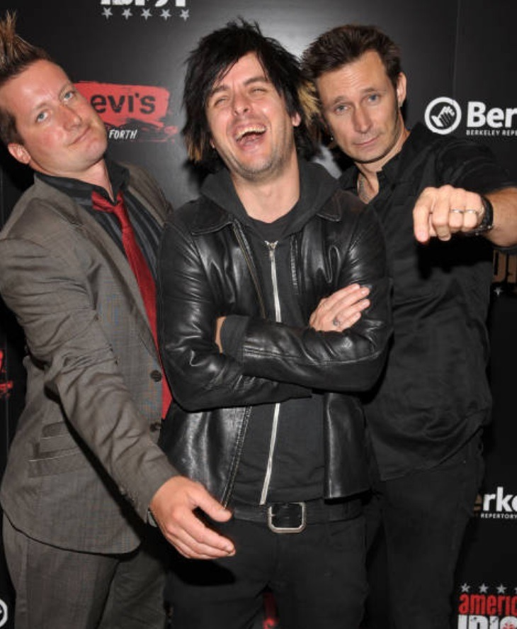#green day#tre cool #billie joe armstrong #mike dirnt