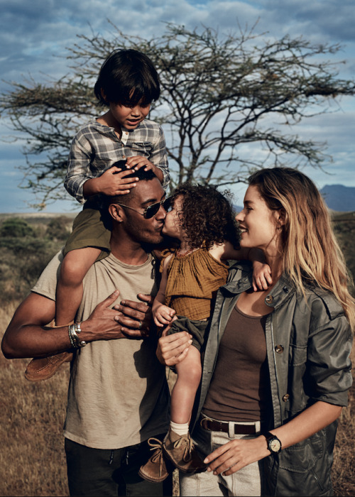 nathaniel goldberg doutzen kroes family elephants glamour magazine