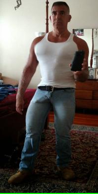 bulge dickprint jeans Rufskin commando