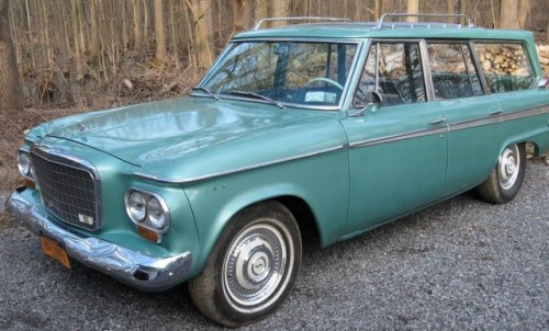 1963 Studebaker Daytona Wagonaire green station wagon 259ci V8 Daily Driver you could do a lot worse