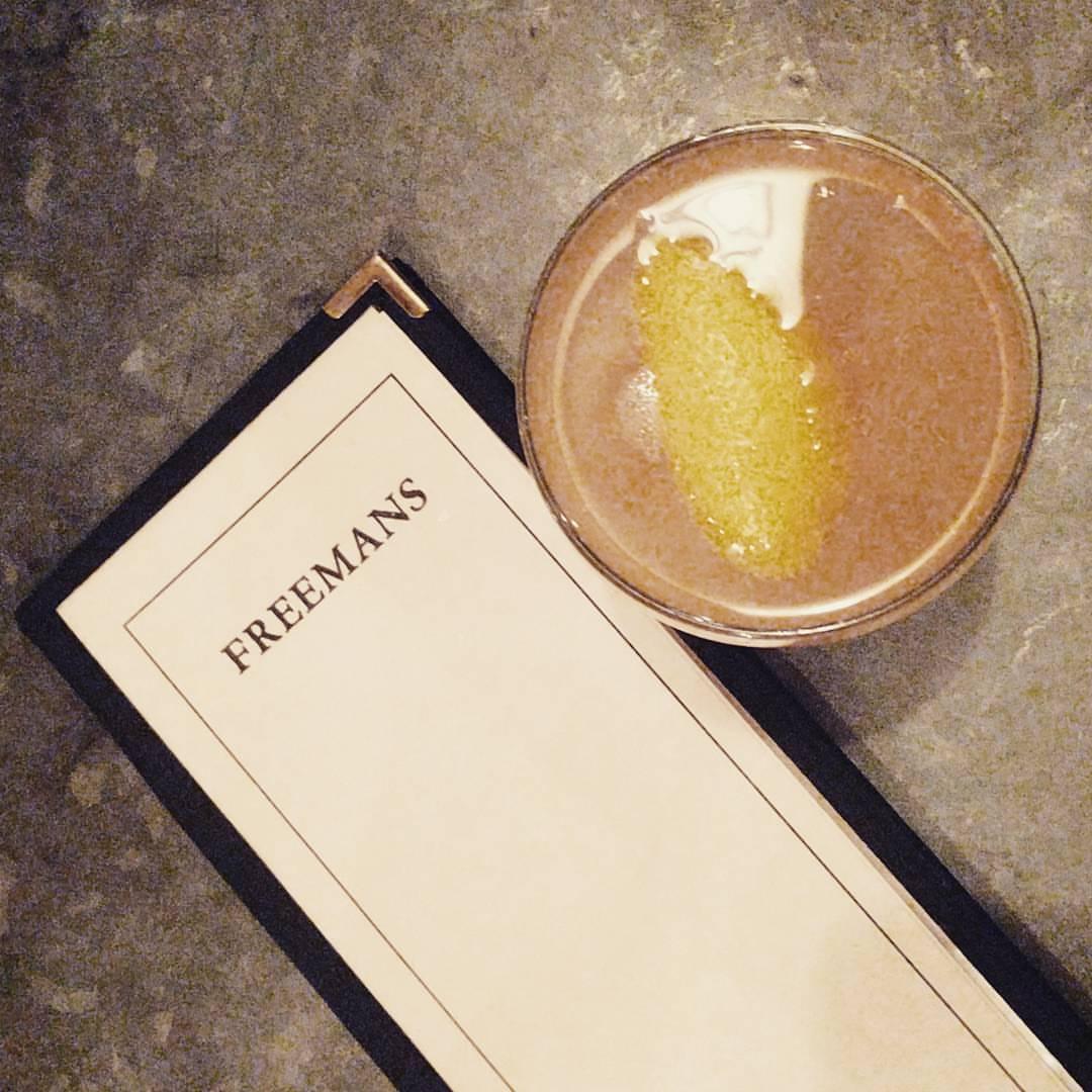 #brunch #freemans #nyc #soho # NY #cocktails