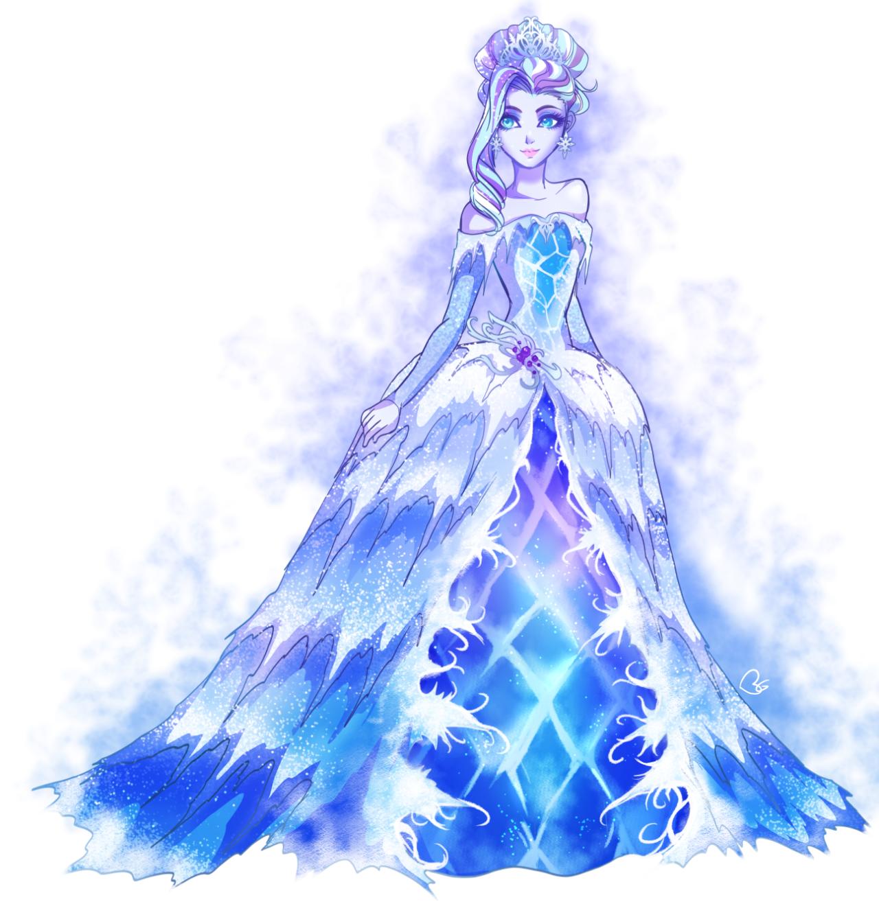 Картинки дочь снежной королевы из эвер афтер хай