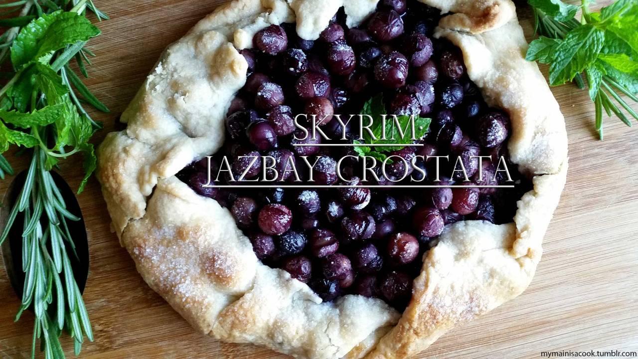 Jazbay crostata recipe
