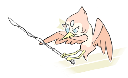 Pikipek looks familiar Bird Pearl who I drew her.Thanks Game Freak.