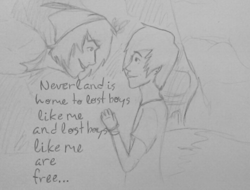 since wendy (and wendy& 039;s child) were both little children in the movies i kinda made 2009ish phan????? also i& 039;m extreme shit at drawing short hair so i guess you could say he& 039;s peter pHAN O SHIT imsosorry neverland peter pan lost boy ruth b ruth b lost boy dil-howlters-gay-dads phanart fanart