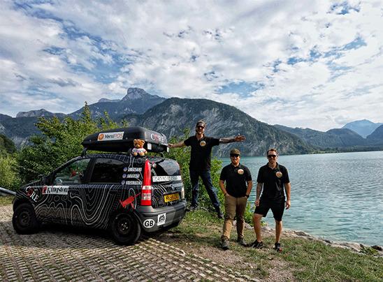 Kingston Technology apoya al Team No Reservations en el Mongol Rally