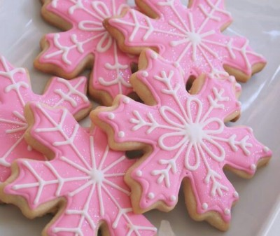 Pink Christmas Cookie Tumblr