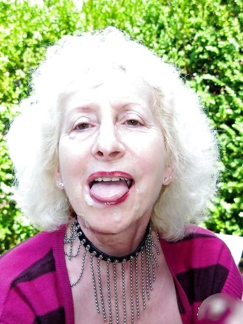 Granny Facials Porn 81