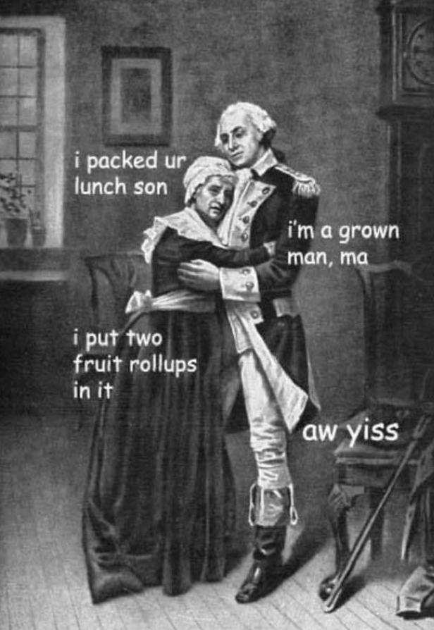 George Washington gathering supplies for his planned crossing of the Delaware River (1776) #Funny#meme#dankmeme#lol#omghotmemes