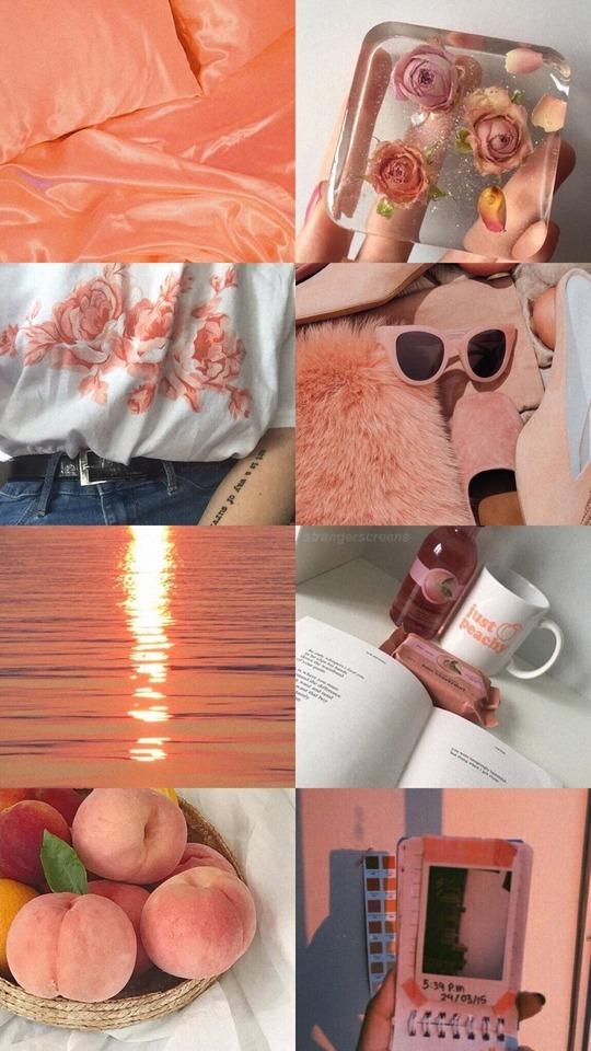 maker of wallpapers peachy aesthetic