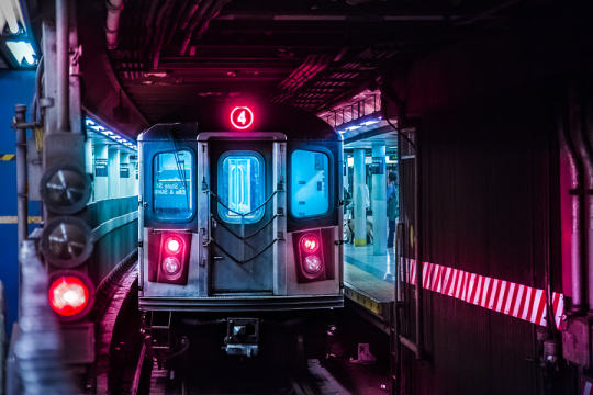 New York Subway by Lok Yiu Cheung on 500px.com