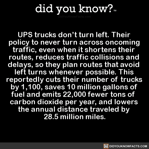 ups-trucks-dont-turn-left-their-policy-to-never