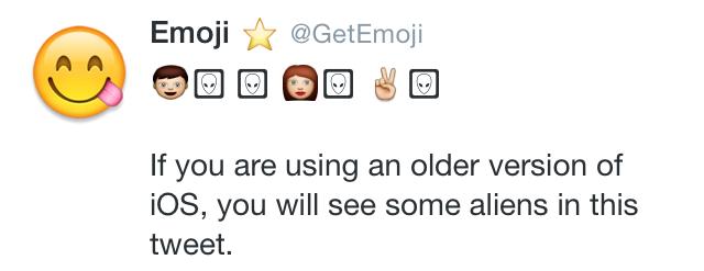 😋 Emoji Blog — What does the alien emoji mean on iOS? It's