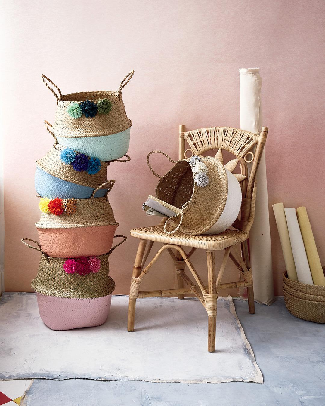 Abrams How To Make Pom Pom Baskets From Craft The