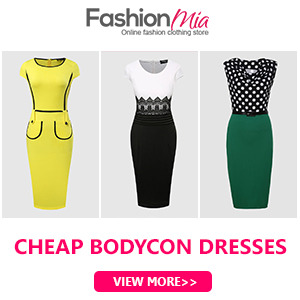 Fashionmia bodycon dresses online