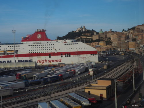 port architecture photographers on tumblr ancona harbor historical marche Italy city urban cruise ship