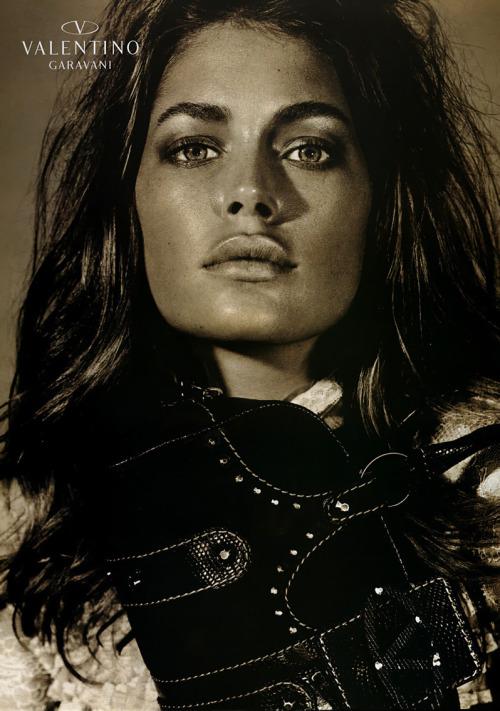 doutzen kroes valentino fw05 campaign editorial Steven Meisel model fashion