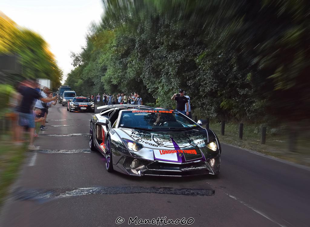 """Chromium Covering""""Lamborghini Aventador SV Roadster- Gu…"""