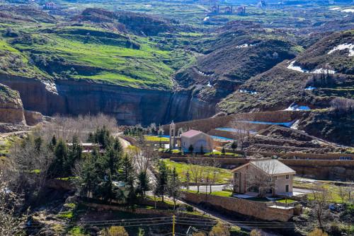 North Lebanon Lebanon Travel View Adventure Scenery Landscape Explore Wanderlust Nature Sky Sun Church Traveller