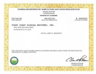 Florida Health Insurance License-letter - insurance license florida