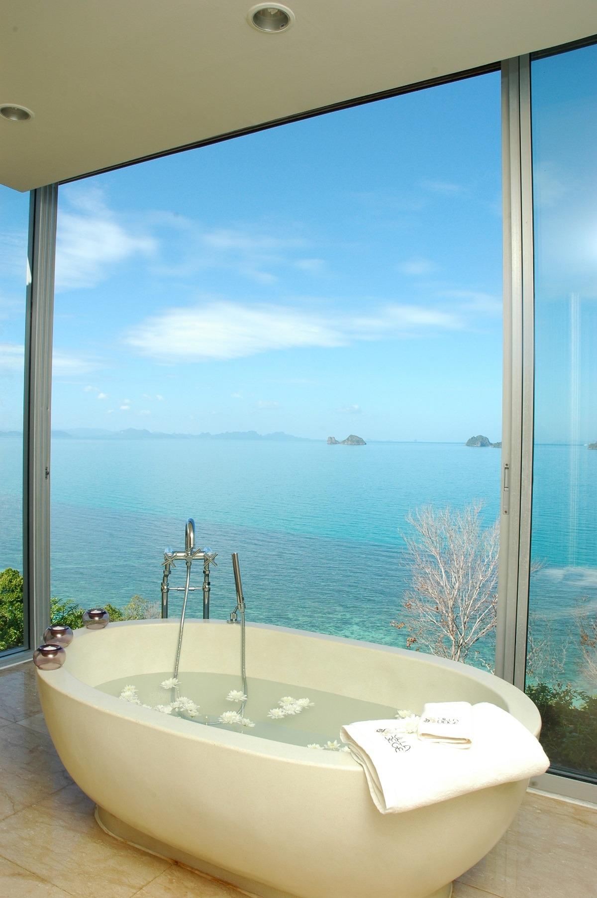 Villa Beige A stylish beachfront accommodation on...