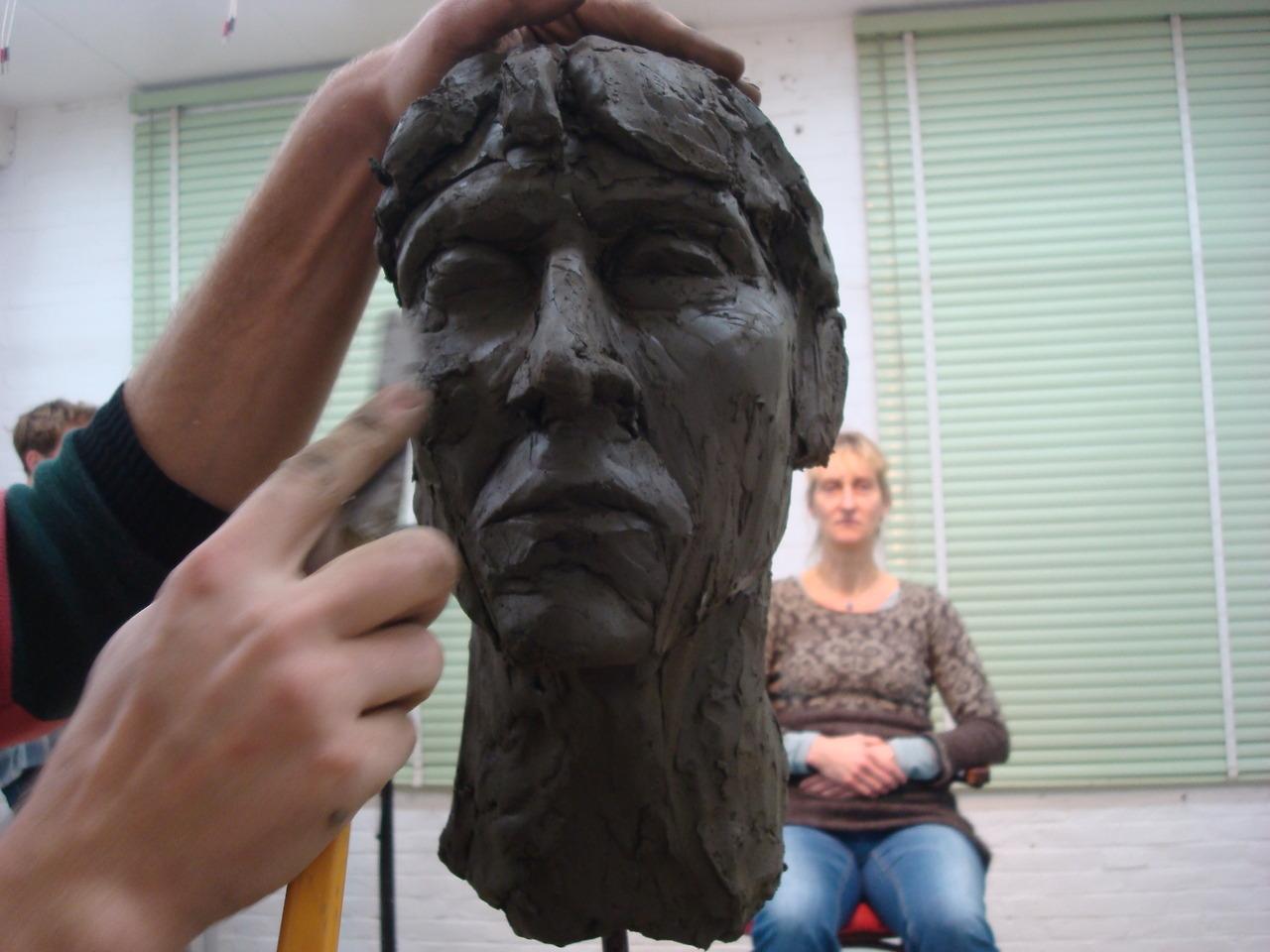 kunstleertilburg:  Portretboetseren, de eerste van een serie van drie