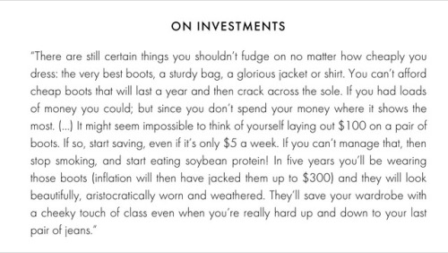 Whether it's material items, or your time and energy, it's important to carefully consider how you're investing. I love this perspective on it; it's so positive and goal-oriented. You can do it!