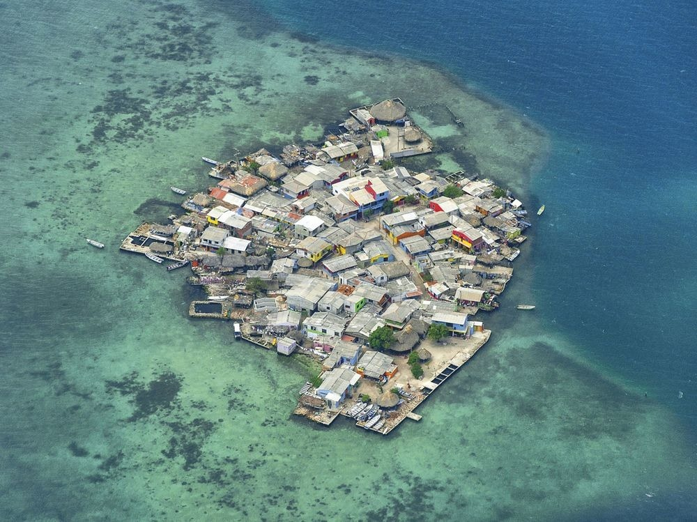 Travel Colombia: Historical Nonfiction.  This little island, perched on coral, has a higher population d...
