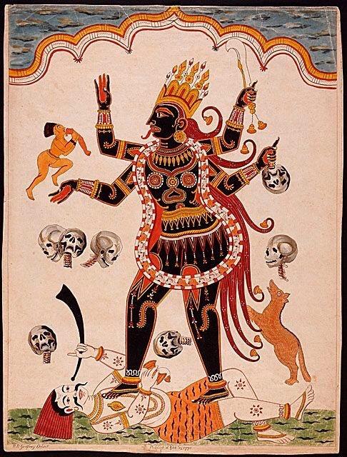 kali hinduism world religions