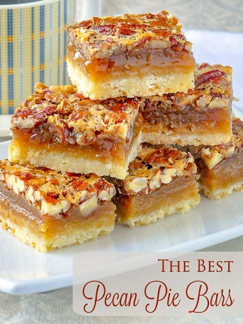 foodffs:  THE BEST PECAN PIE BARS. SO EASY TO MAKE!Follow for recipesIs this how you roll?