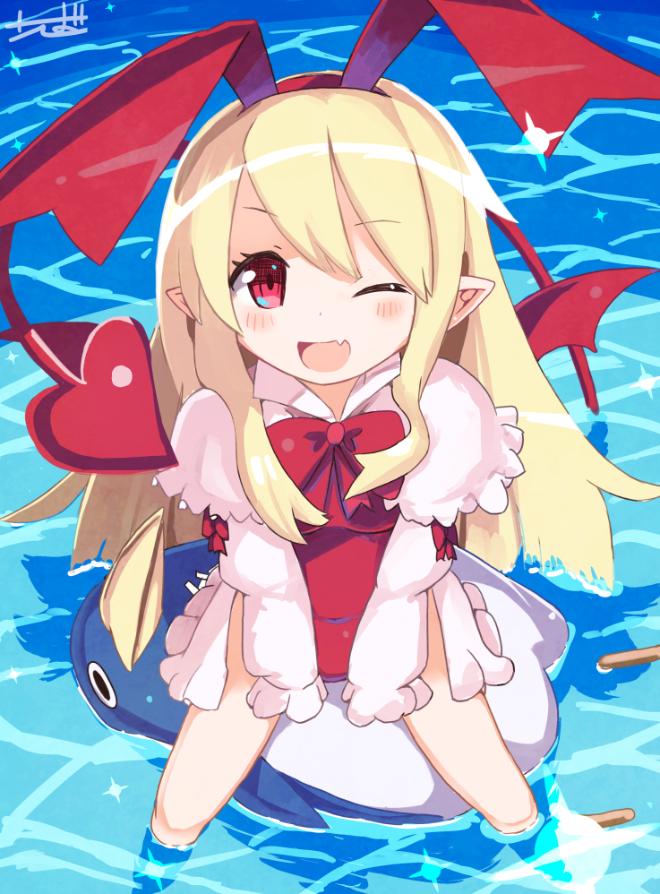 I drew this.Flonne (from Disgaea2