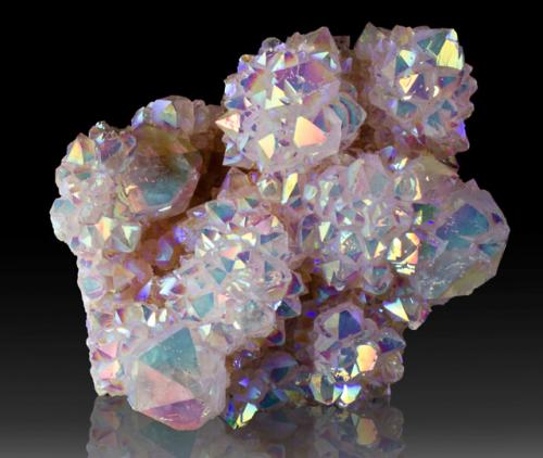 quartz aura quartz rainbow irridescent minerals crystal pink purple pretty magical mystical spirit quartz