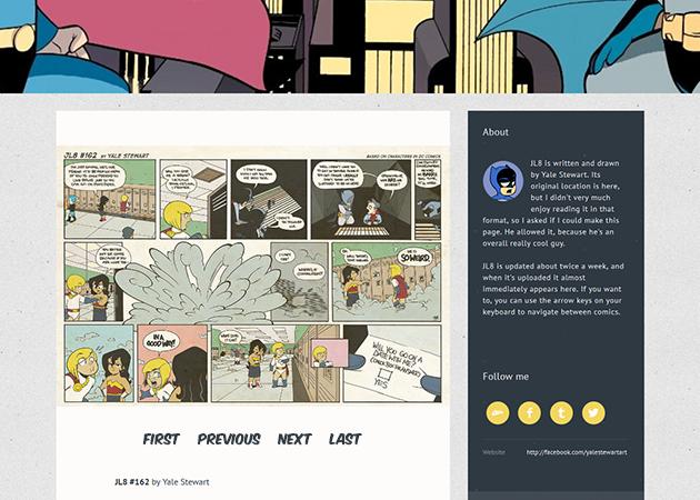 Simple Webcomic Theme (V4) | Tumblr