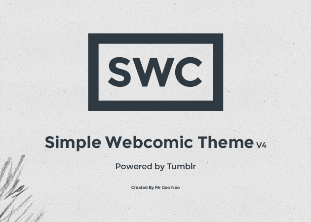 simple webcomic theme v4 tumblr