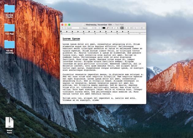 macOS Sierra Theme | Tumblr