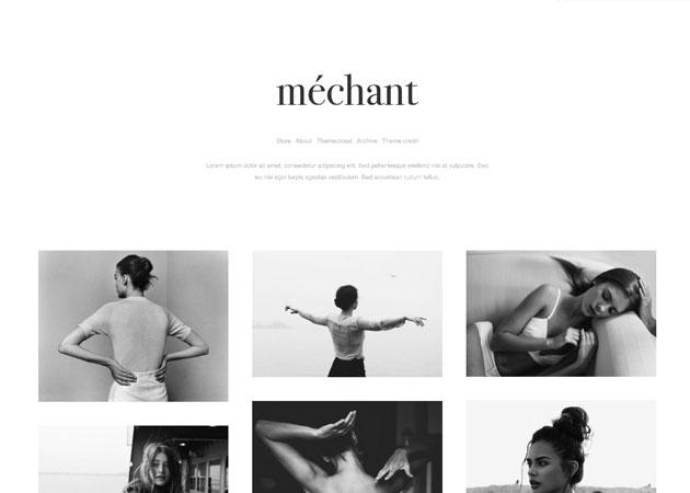 black and white tumblr themes free