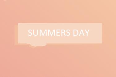 Summer's Theme