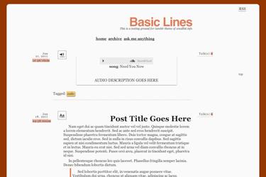 Basic Lines