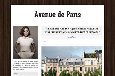 Avenue de Paris