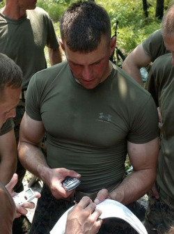 Hot military cubs